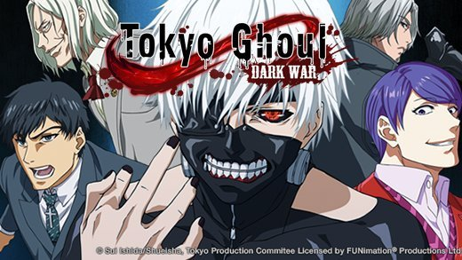GameSamba Has Announced That Tokyo Ghoul Dark War Will Be Available At The End Of This Year Is A Real Time RPG Type Mobile Game