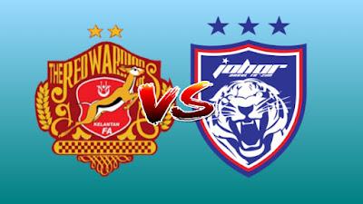Live Streaming Kelantan vs JDT II Challenge Cup 14.8.2019