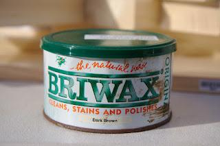 BRIWAX ダークブラウン