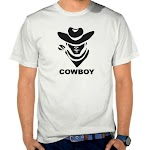 Kaos Distro Murah Cowboy SK45 Asli Cotton