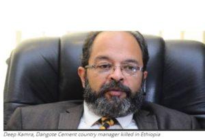 Gunmen Kill Director Of Dangote Cement Plant In Ethiopia