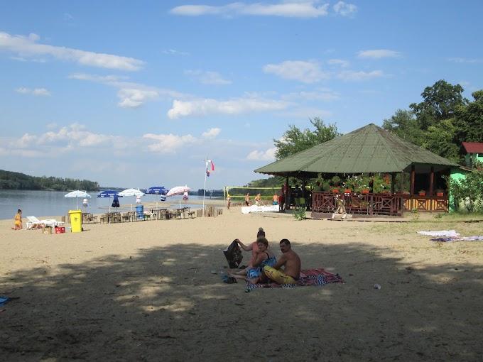 Plaja Bașcov din Calafat (imagini 2019)