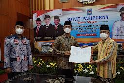 Penandatangan Nota Kesepakatan Rancangan Awal RPJMD Kota Mataram Tahun 2021-2026
