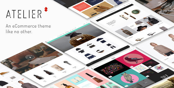 Atelier - Creative Multi-Purpose eCommerce Theme 1.9.7