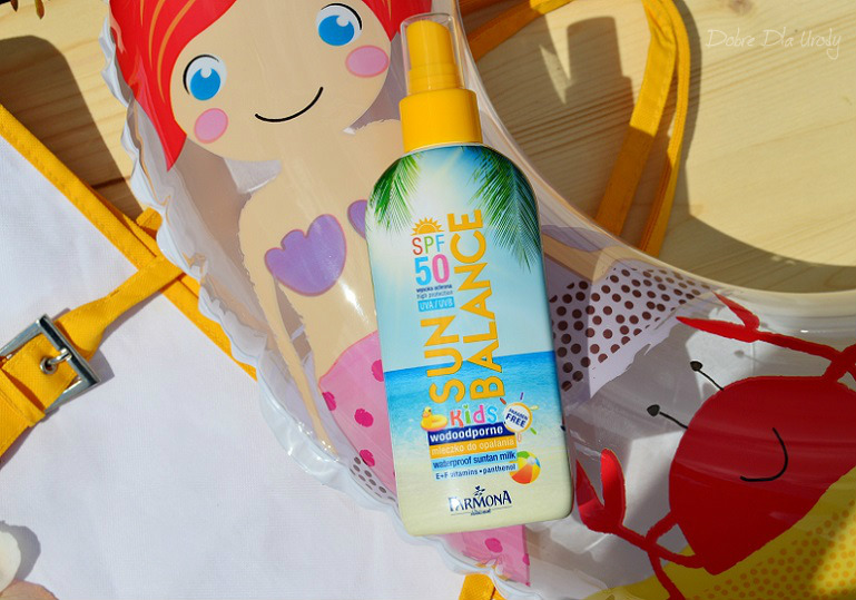 Farmona Sun Balance - Wodoodporne mleczko do opalania dla dzieci SPF50