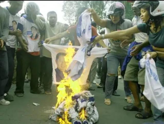 Habib Ali: Dulu Kaos Bergambar Demokrat dan Pak SBY Dibakar Massa, tapi Anteng Saja