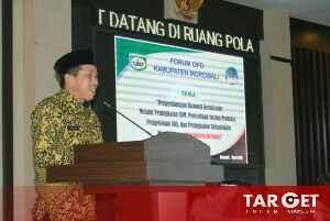 Bupati Taslim Harapkan, Perencanaan dan Penganggaran  Berorientasi Pada Prioritas Pembangunan Daerah