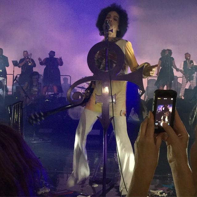 Prince - HITNRUN US TOUR - Washington DC , Warner Theater , June 14.