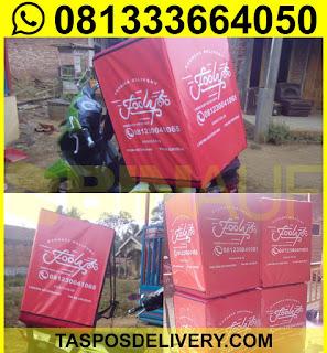 Tas delivery makanan, box delivery motor fooly malang