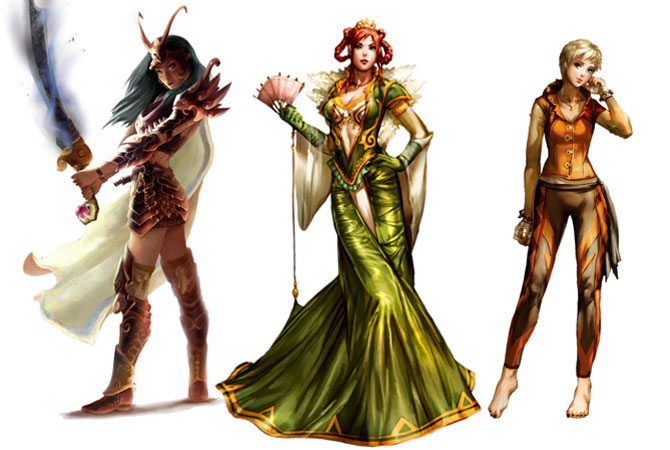 Pathfinder Sexy Girls