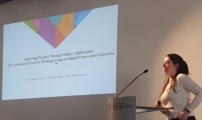 Digital Preservation Education at RAILS