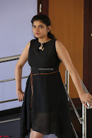 Khanishka new telugu actress in Black Dress Spicy Pics 35.JPG