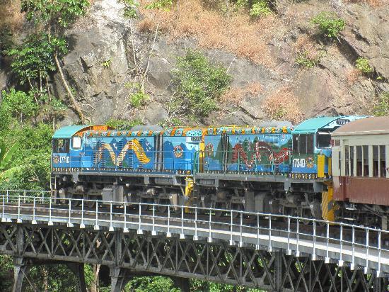 Kereta Perjalanan Cairns Australia.