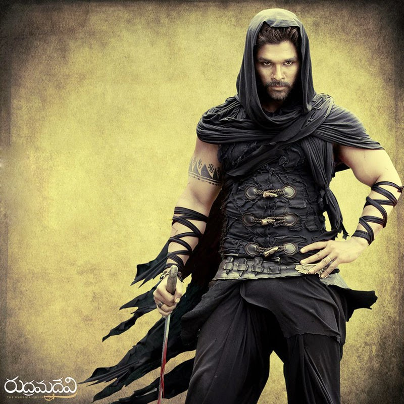 allu arjun hd photos from rudhramadevi