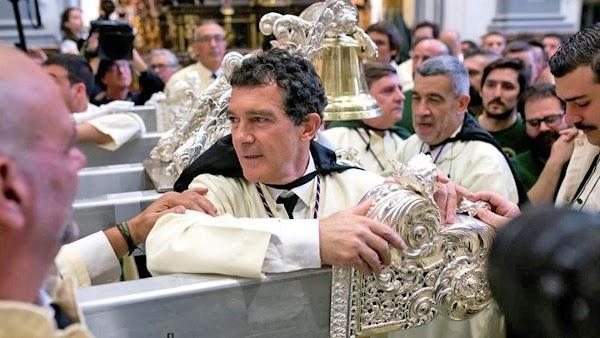 """Antonio Banderas defiende la Semana Santa: """"Es algo mucho más profundo"""""""
