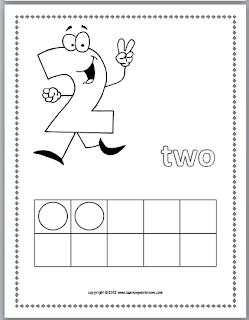 Classroom Freebies: Ten-Frames Math Coloring Book Freebie