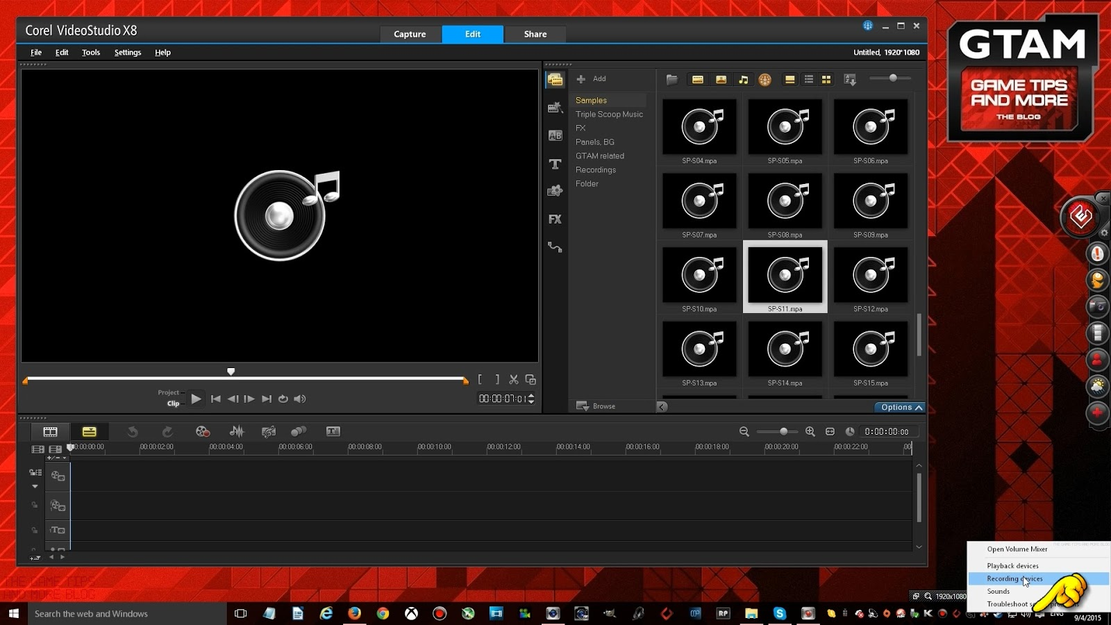The Game Tips And More Blog: Quick Tip: Corel's ScreenCap