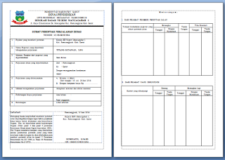 contoh sppd surat perintah perjalanan dinas dari kepala sekolah sdn mancagahar 1