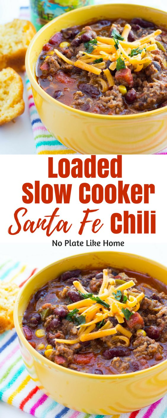 Slow Cooker Santa Fe Chili