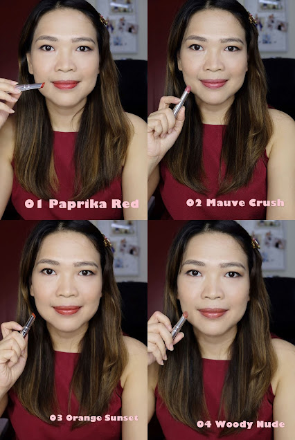 A photo of K-Palette Lasting Semi-Matte Lip Tint Sticks Review by Nikki Tiu of askmewhats.com
