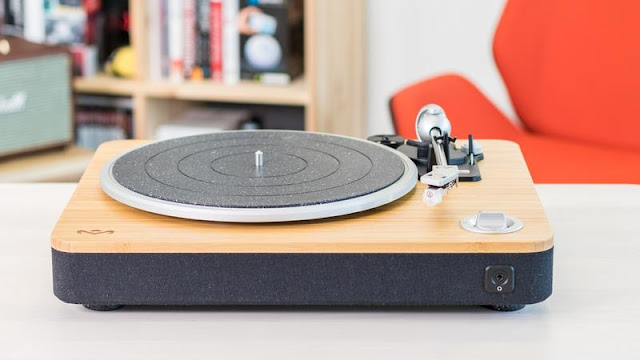 3. House of Marley Stir It Up Turntable