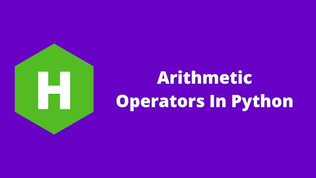 HackerRank Arithmetic Operators in python problem solution