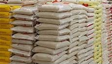 Over 20000 bags of rice seized