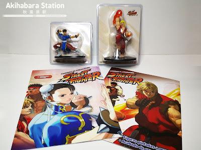 coleccionable de figuras de STREET FIGHTER 2, Altaya.
