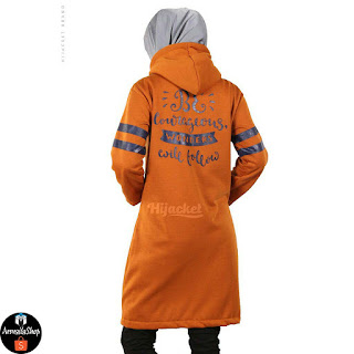 JAKET HIJABER BEAUTIX MARIGOLD Original SPORTY PREMIUM FLEECE