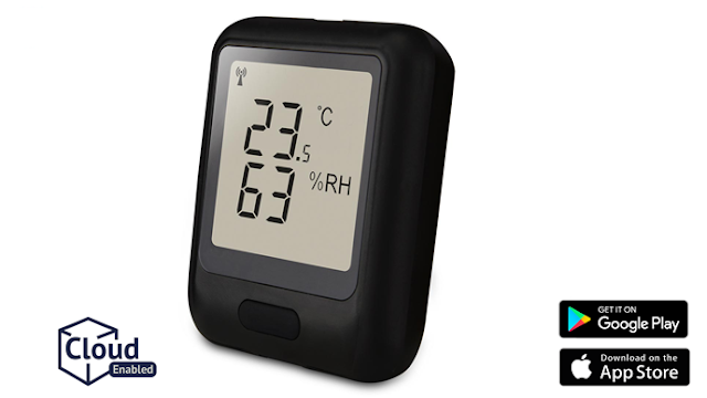 EL-WiFi-TH WiFi Temperature & Humidity Data Logger