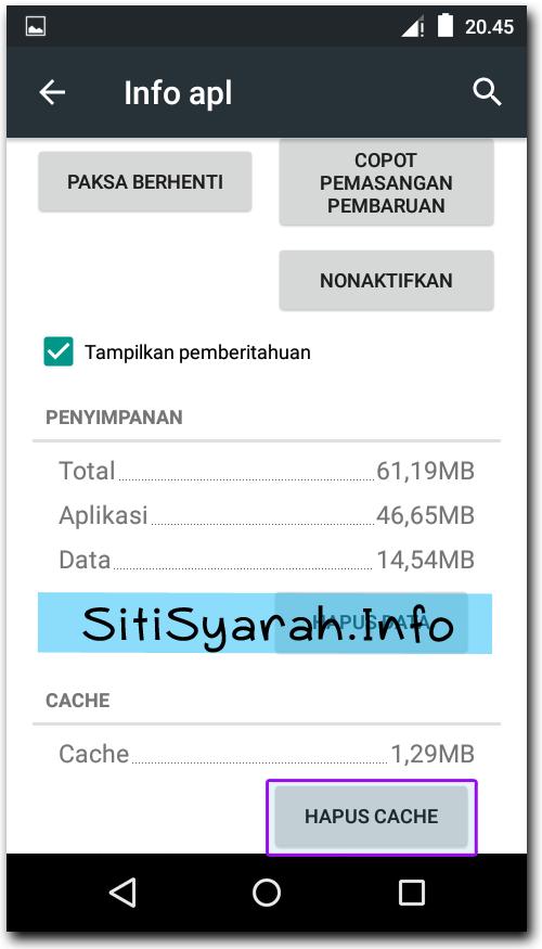 Solusi Android Telat