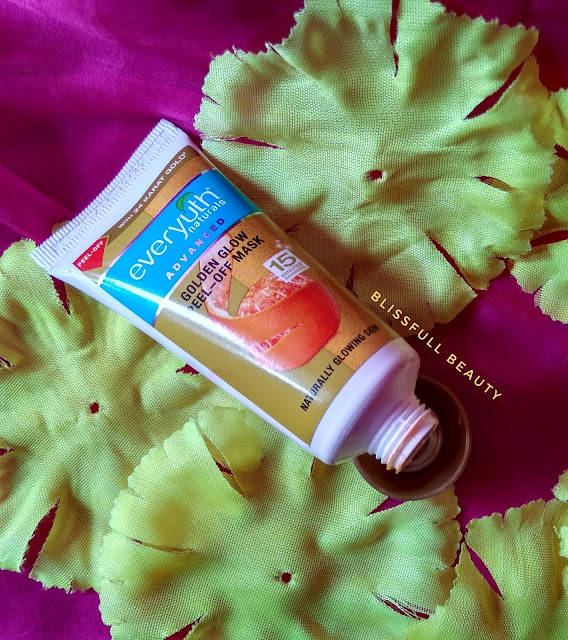 Everyuth Golden glow peel-off mask Review
