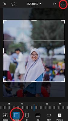 cara mengatur ukuran foto twibbon