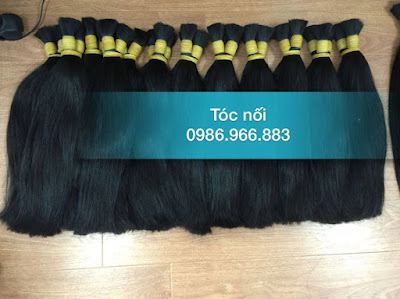 Địa chỉ bán tóc thật để nối giá rẻ tại Hà Nội đủ các độ dài 40, 50, 60, 70 80cm