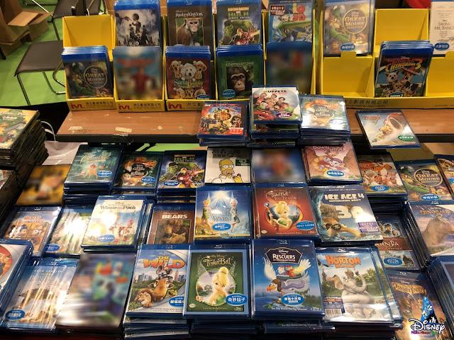 港版迪士尼影碟現已停產影碟發行商洲立影視於2021年書展推終極清貨優惠, IVL, Hong Kong