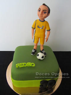 Bolo para o aniversário do Pedro