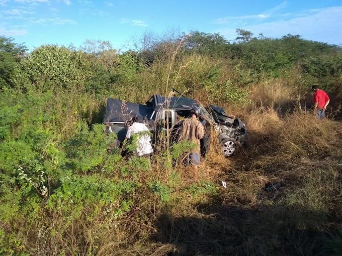 ACIDENTE DE TRÂNSITO NA BR 404 EM IPAPORANGA