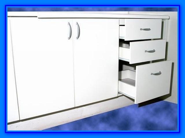 Muebles de cocina detalle para instalar cajones for Rubro 7 muebles de cocina