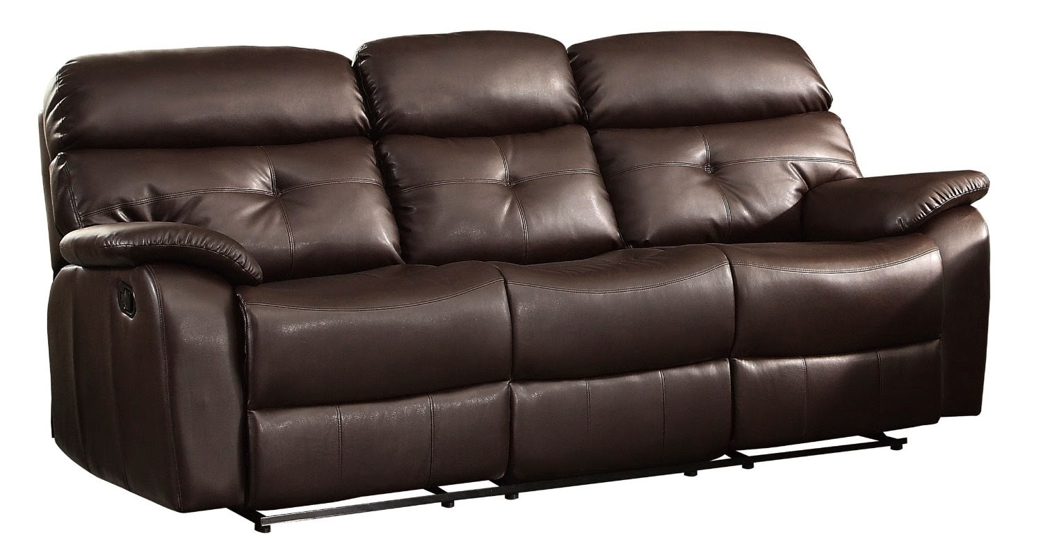 Eric Double Reclining Sofa Console Loveseat