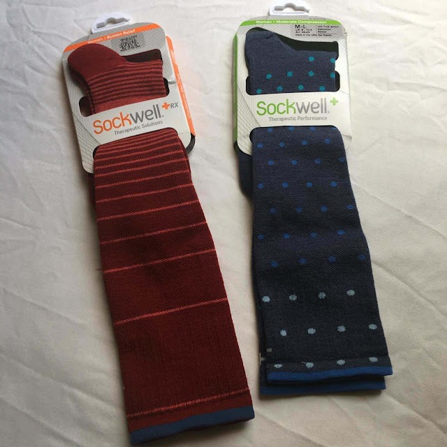 Sockwell Compression Socks Travel Running Fitness Exercise Leg Swelling Fatigue Blood Clots