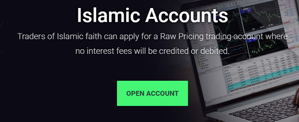 Open ic markets islamic account
