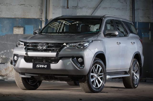 Toyota Hilux SW4 2020