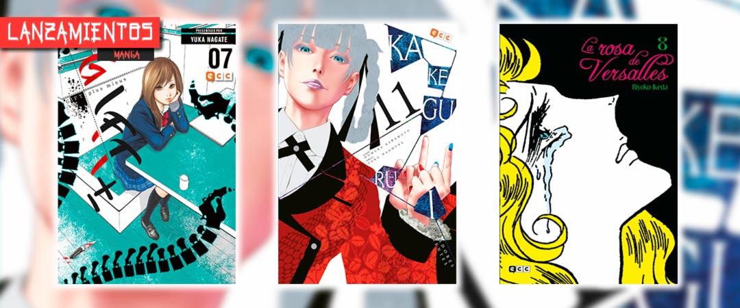 Novedades ECC Ediciones agosto 2021 - manga