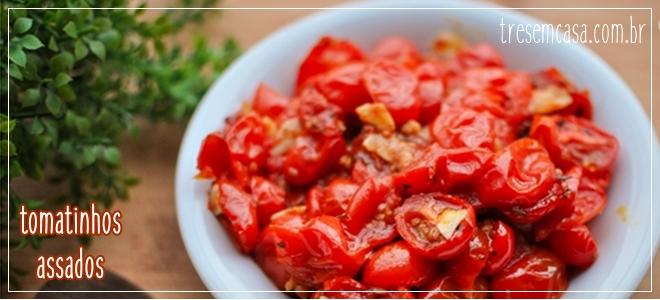 receita de tomate assado com mel