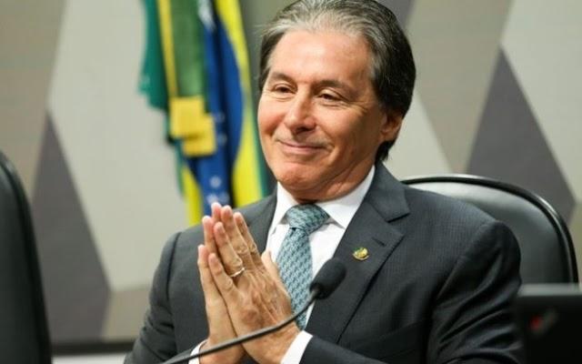 Juiz proíbe Eunício de usar Lula, Cid e Camilo em propaganda