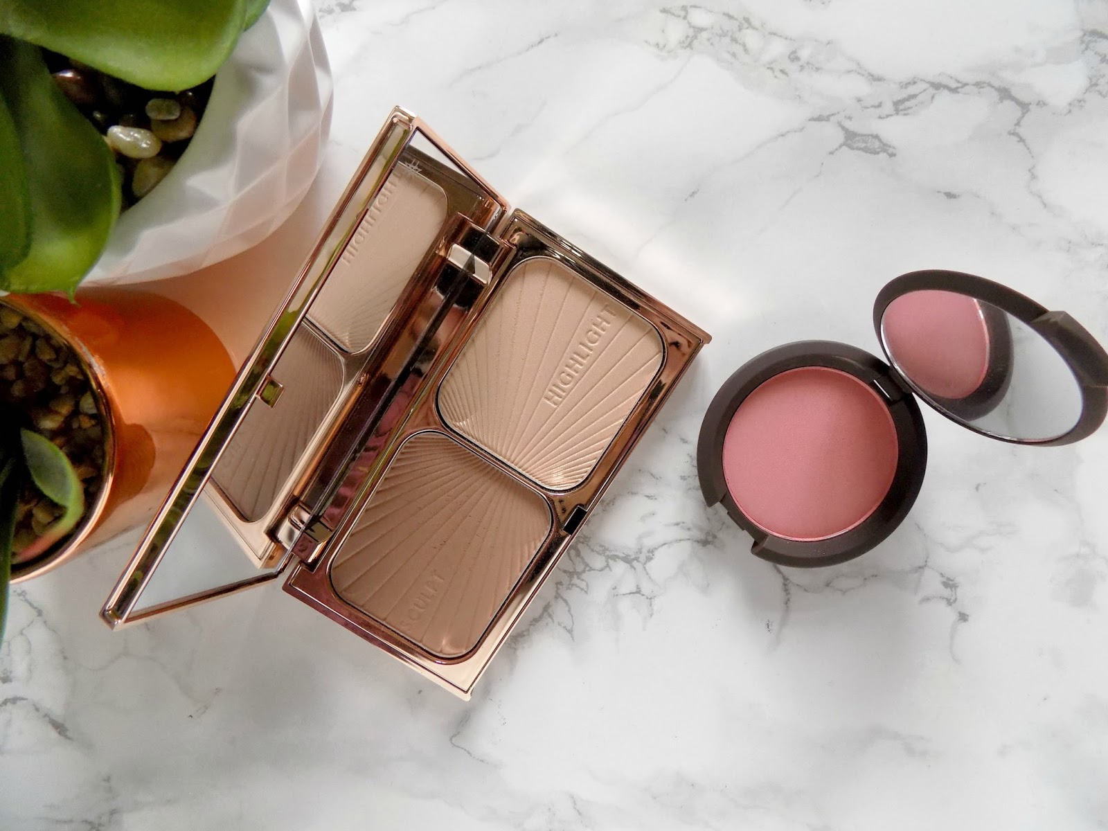 charlotte tilbury bronze and glow becca flowerchild