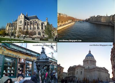 Primer paseo del viaje a París y dos puntos de interés del Barrio Latino