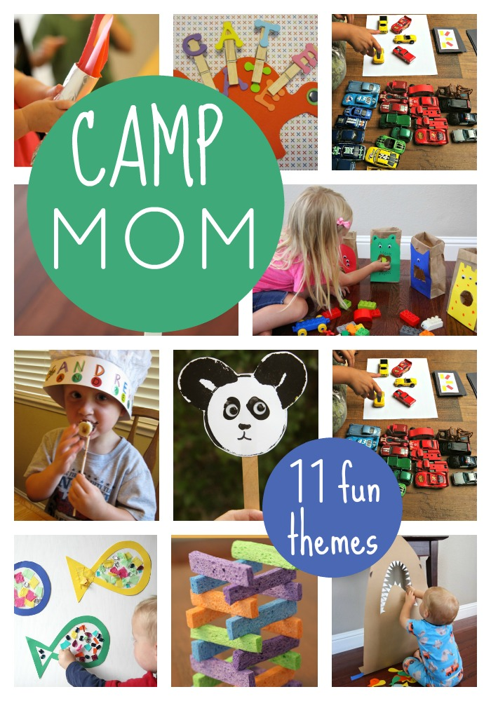 Toddler Approved Camp Mom Host Summer Camp At Home
