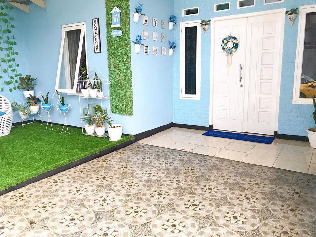 Inspirasi Rumah Warna Biru Yang Membuat Damai Dihati ~ Homeshabby.com :  Design Home Plans, Home Decorating And Interior Design