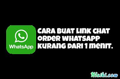 link chat order wa generator